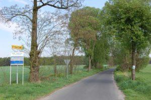 Droga do Skorzęcina Rybakówki