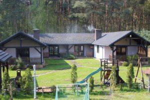 Domki dla rodzin w Skorzęcinie Rybakówce